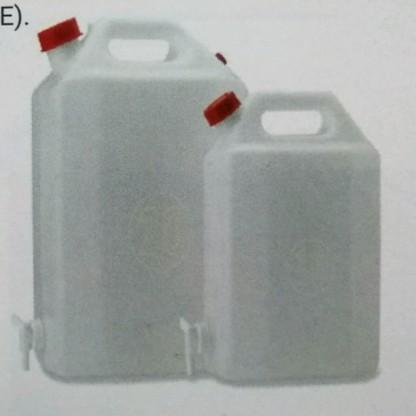 Garrafa / Garrafón Plástico / Rectangular con llave