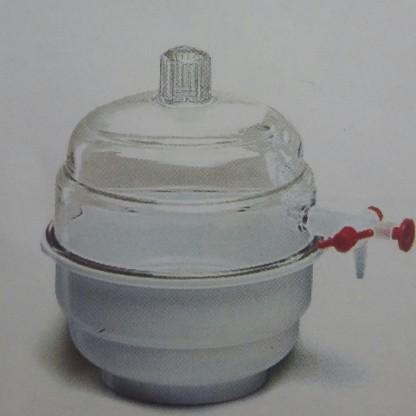 Desecadores Plásticos 118.303.01 Tapa Pc Y Base Pp Con Llave Sin Placa - 150 Mm Parte Inferior Fabrica Polylab