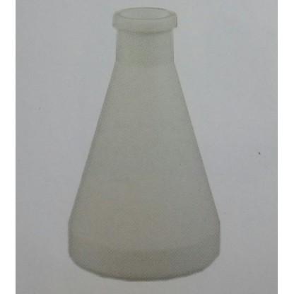Erlenmeyer A 151-02 100 Ml En Teflon Fabricado En Ptfe, De Pared Gruesa, Con Junta Esmeri Sicco