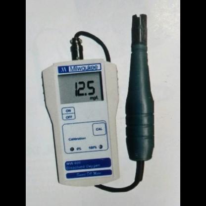 Oxigeno Disuelto Mw600 Nivel Profesional Avanzado (Portatil) Rango De O2: 0,0 A 45,00 Mg / Milwaukee