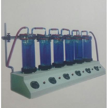 Extractor de Fibra Cruda de seis puestos