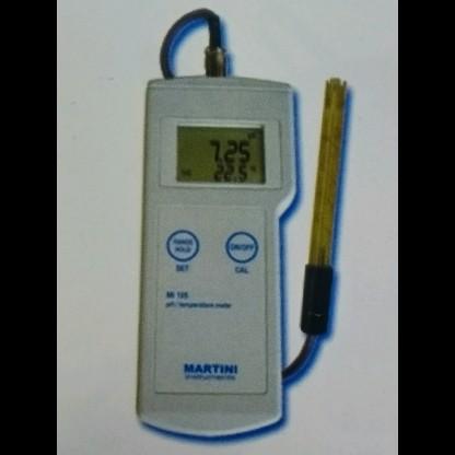 Ph Metro Mi106 Ph/Orp/Temp - Rango De Ph: -2.00 To 16.00 Ph - Rango Temperatura: -5.0 Martini